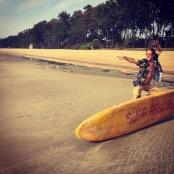 Matt Air Surfing on Galgibaga