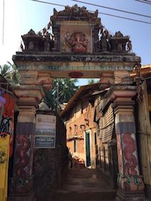 Entrance to a temple