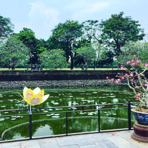 Hue's Imperial City Gardens