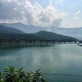 View from the train between Da Nang and Hue