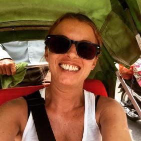 Quick Cyclo selfie