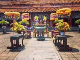 Courtyard and shrine