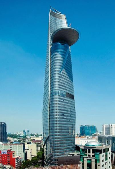 Bitexco Tower with its Heli Pad