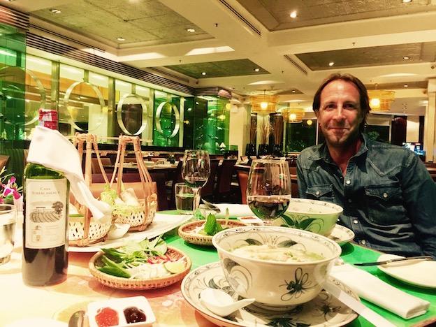 Dinner in Equatorial