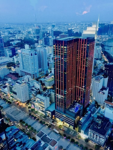 View of HCMC from the tower