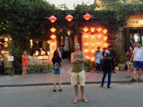 Outside Lantern Town Restaurant