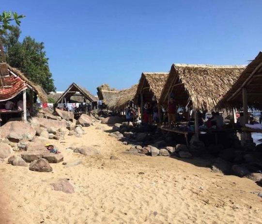 Hidden cove in Da Nang