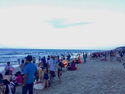 An Bang Beach early evening
