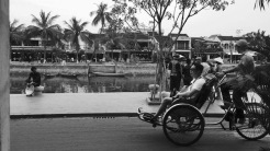 Hoi An Ancient Town view of the canal