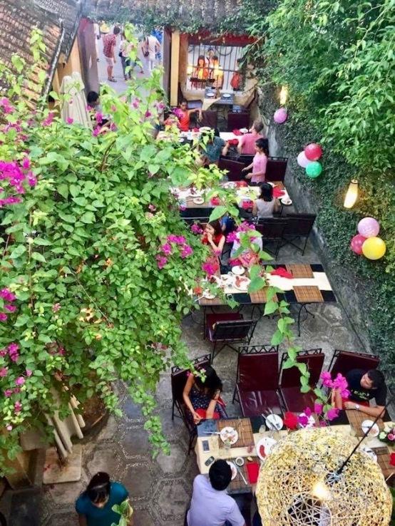 Lantern Town's patio