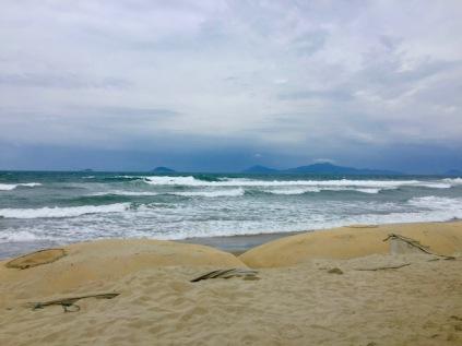 Cau Day Beach noticeable erosion