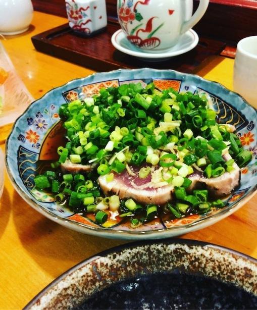 Bonito Tataki tuna