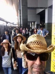 Kyoto Station platform