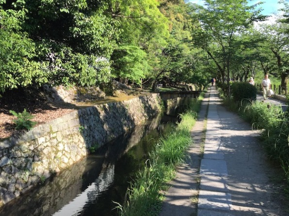 2 km path running adjacent to a canal