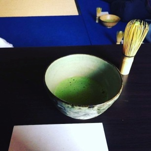 Our matcha green tea