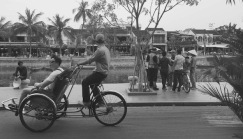 Cyclo in Hoi An Ancient Town