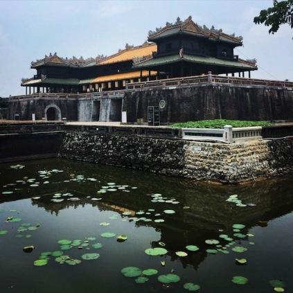 Imperial City pond