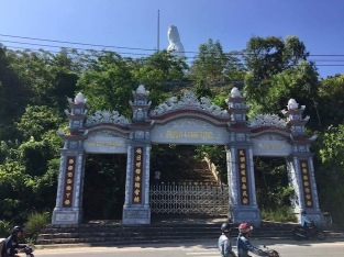 Linh Lung on Son Tra Mountain