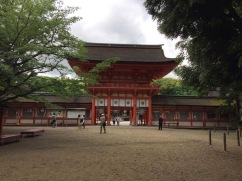 Main Shimogamo Shrine entrance