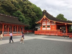 Fushimi Inari grounds as you enter