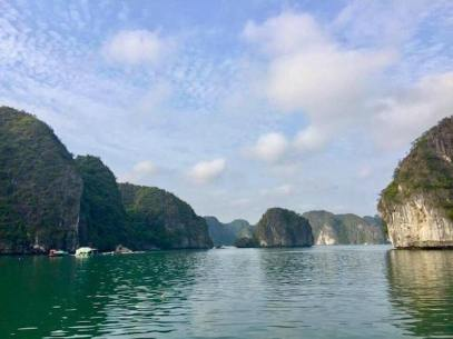 Cat Ba Island waters
