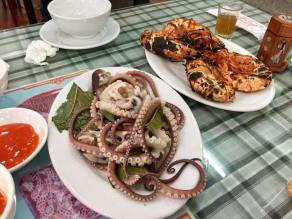 Yummy Prawns and Octapus