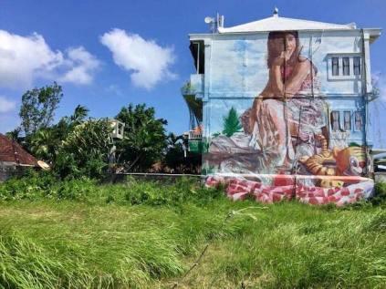 Echo Beach area street art