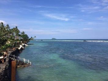 Candidasa coastline