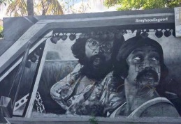 Cheech & Chong Graffiti