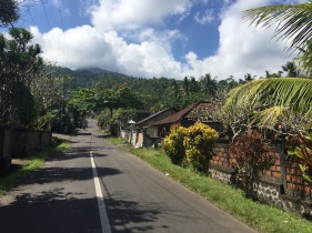 Another empty road in East Bali