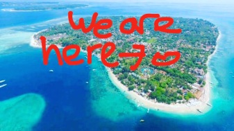 Where we stayed on Gili Air