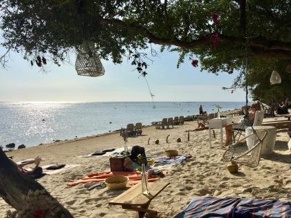 Lovely little beach here!