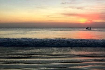 Jimbaran Beach sunset