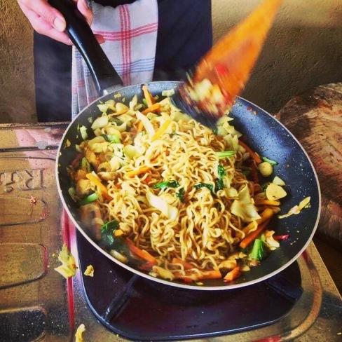 Mie Goreng (Noodles) Yum Yum!
