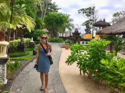 Nusa Dua's beach path