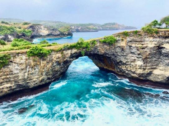 Nusa Penida's turquoise water