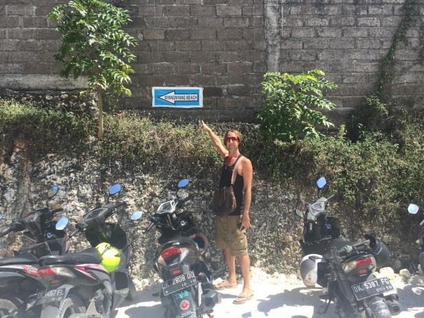 Nyang-Nyang Beach carpark
