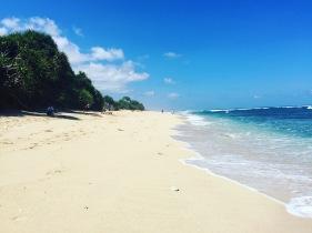 Empty beach!