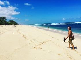 Deserted Nyang-Nyang Beach - best in Bali