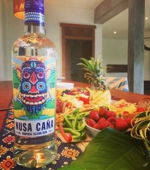Nusa Caña Rum was Yum!