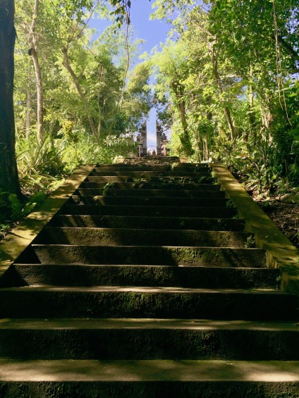 Steps up to Pura Lempuyang Temple