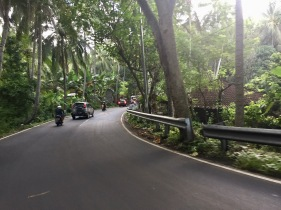 Mountain roads in East Bali