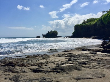 Tanah Lot Temple rock