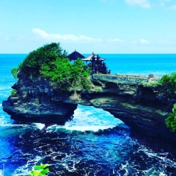 Tanah Lot temple grounds
