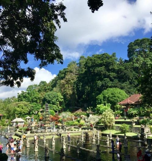 Tirta Gangga's main pond