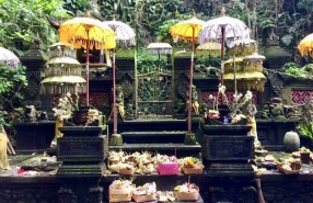 Shrine number 2 at Sebatu Temple