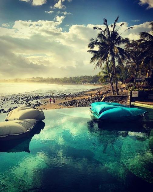View of Medewi Beach