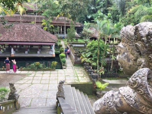 Water Temple in Ubud area