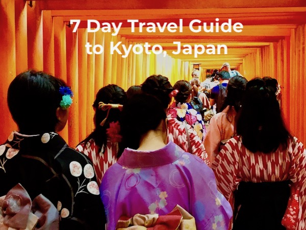 7 days in kyoto
