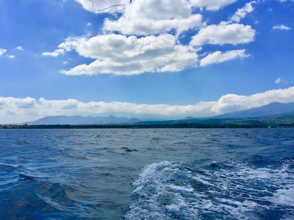 Ocean near the Gilis